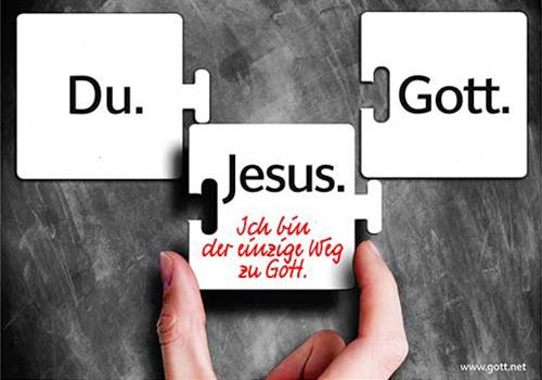 Gott jesus zu der weg Jesus Christus
